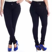 Sawary Jeans Calça Feminina Com Bojos Modela Levanta Bumbum