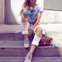 Calça Boyfriend Jeans Lady Rock
