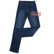 Calça Jeans Masculina Importada Fashion Mid Blue Com Elastan