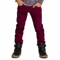 Calça Sarja Infantil Menino Fox14549 (160)