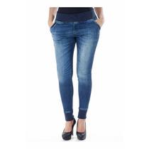 Calça Legging Sawary Jeans Cós Elastico