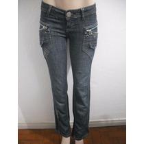 Calça Jeans Feminina Jezzian Tam 36, Usado Bom Estado