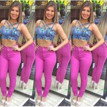 Calça Hot Pants Color Rosa Pink