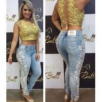 Calça Pit Bull Pitbull Jeans Levanta E Modela O Bumbum!!!