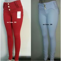 Calça Jeans Legue.2% De Elastano.