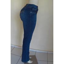 Calça Jeans Feminina Flare Patogê