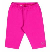 Shorts Legging Cotton Infantil Menina Boca Grande Bg058