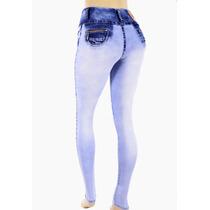 Calça Feminina Jeans Com Strech Elastano Melhor Preço