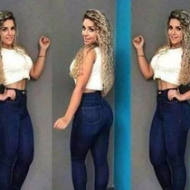 Calça Jeans Feminina, Cintura Alta, Skinny, Promoção,
