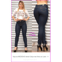 Calça Jeans Feminina Azul Hot Pants Temos Sawary Modela 858
