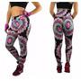 Calça Legging Estampada Fitness Feminino Cintura Alta Barata