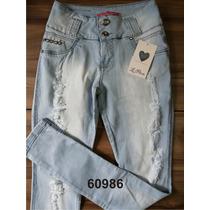 Calça Jeans Le Paris For Use Levanta Bumbum Com Elastano Fem