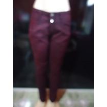 Calça Jeans Feminina Da 767 - Roxa - 42 - Frete Grátis