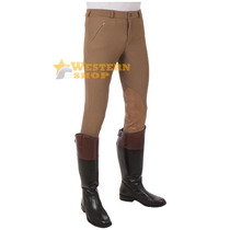 Culote Tuff Rider Unissex Marrom - Country Low Rise