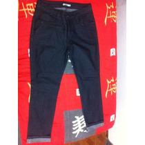 Calça Jeans 44 Marisa Cintura Média-alta Reta