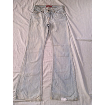 Calça Jeans Flare Blue Steel Tam 40 - 40x102cm