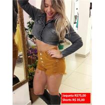 Atacado Shorts Jeans - Calças Jeans - Hot Pants 36 Ao 46-6pç