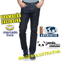 Calça Jeans Authentic Sport **linha Básica P/ Trabalho**