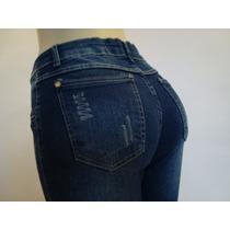 Super Promoção! Calça Jeans Hot Pants Cintura Alta