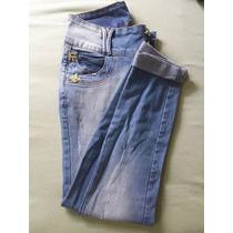 Calça Skinny Jeans Tamanho 38 República Feminina Azul Claro