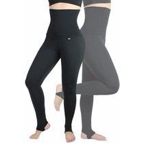 Calça Legging Modeladora Com Pezinho (mescla)