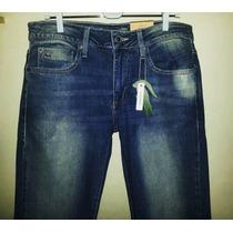 Calça Jeans & Preta Masculina Marca Famosa Import. Tm 42/44