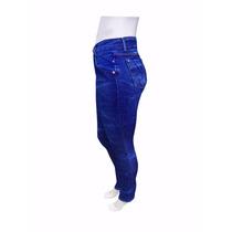 Calça Jeans Feminina Cintura Alta Levanta Bumbum Fabrica