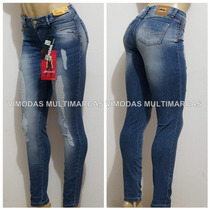 Calça Sawary Jeans Cintura Animal Print - Peças Limitadas !!