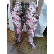 Calça Tipo Pantalona Varias Cores Em Viscolaycra Confortavel