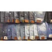 Kit Calça Jeans Atacado - Lote Com 5 Unidades