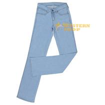 Calça Jeans Feminina Cowboy Cut Stretch Cooper Delavê - Tass
