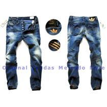 Calça Jeans Masculina Adidas Blue 2015 - Alta Qualidade