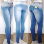 Calça Jeans Feminina Estilo Pitbull Com Lycra Levanta Bumbum