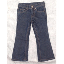 Calça Jeans Com Brilho Importada Cherokee - Tam. 4 Anos