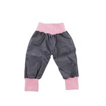 Calça Jeans Bebê Menina Kidins Tam.rn-m Frete Grátis