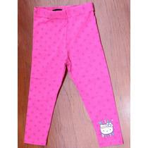 Legging Cotton Calça Infantil Hello Kitty 18 A 24 Meses