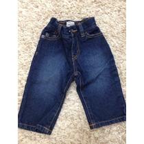 Calça Jeans Infantil Menino 6 A 9 Meses