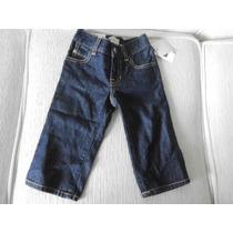 Calça Jeans P/ Bebe Menino Escura Baby Gap Original 18 Meses