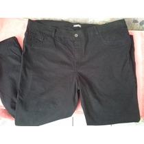 Calça Sarja Preta Elastano G3 52 54 Moda Maior Plus Size