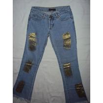 Calça Jeans Clara Customizada Feminino Equus Casuais Tam 36
