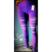 Legging Fuso Power Suplex Colorida Rosa Roxa P. Entrega