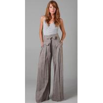 Calça Pantalona- Gg- Modelo Importado Elegante Fem. Casimira