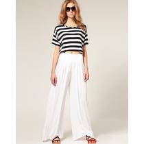 Pantalona Eg Modelo Importado Calça Feminina Casual Elegante