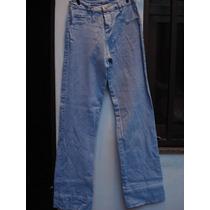 Calça Jeans C/ Brilho E Elastano Da Hamuche Tam 42
