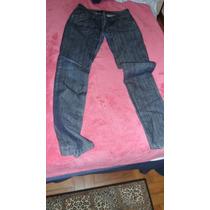Lindíssima Calça Jeans Canal Com Detalhes N:40