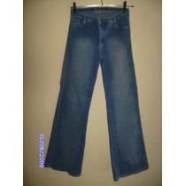Ca024 - Brecho Calça Jeans Com Stretch Manequim 42