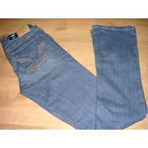 Hollister Calça Jeans Fem. Modelo Boot Cut Tam. 38