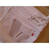 Fofíssima Calça Da Loony Jeans Com Detalhe Lacinho N:38