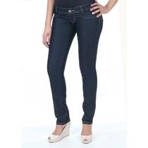 Calça Jeans Feminina Skinny Sawary Levanta Bumbum