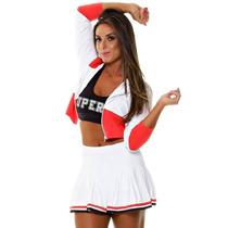 Short Saia Suplex Malha Fitness Academia Superhot Skirt